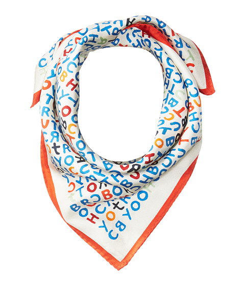 Tory Burch Lettering Neckerchief - New Ivory