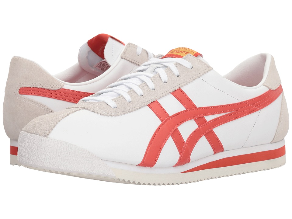 Onitsuka Tiger by Asics - Tiger Corsair(r) (White/Paprika) Athletic Shoes