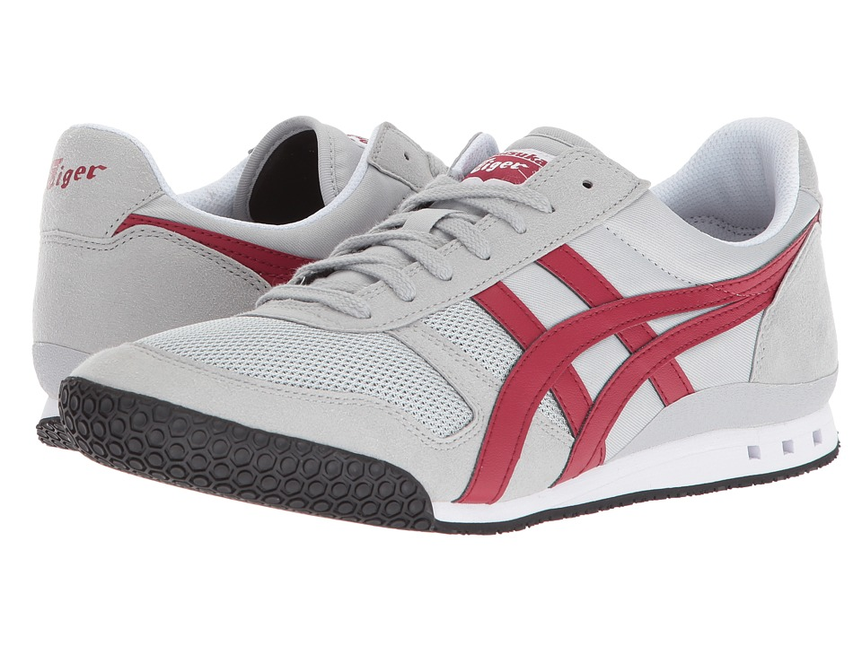 Onitsuka Tiger by Asics Ultimate 81(r) (Mid Grey/Burgundy) Classic Shoes