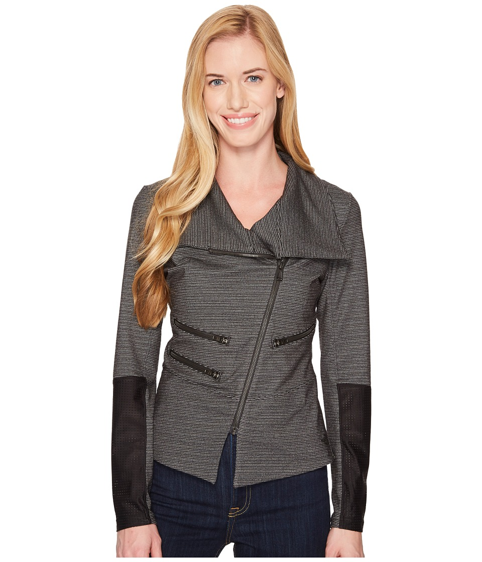 The North Face Perfect Core Moto Jacket (TNF Black) Women