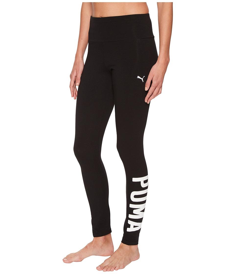 PUMA Athletic Leggings (PUMA Black/White) Women