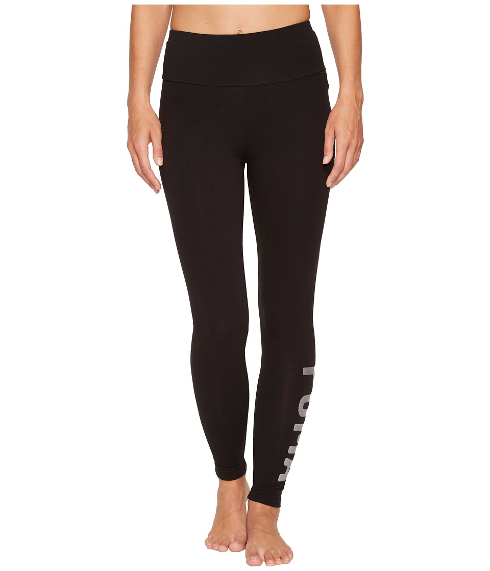 PUMA Athletic Leggings (Puma Black/Silver) Women