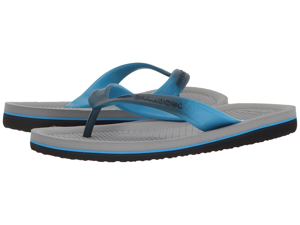Billabong - Offshore Thong Print (Grey) Men's Sandals