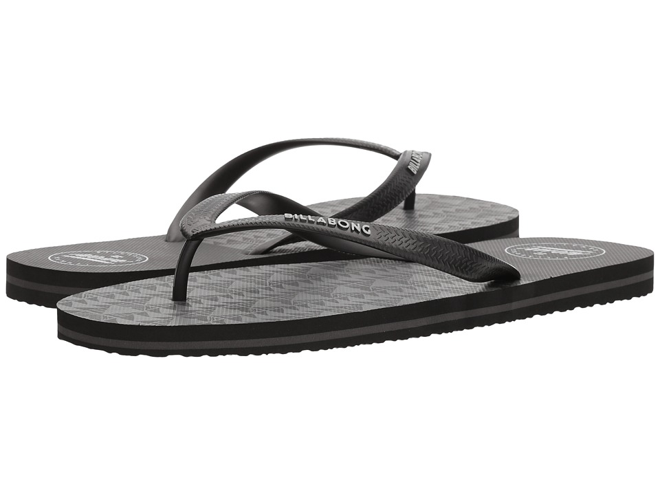 Billabong - Tides Hawaii (Black) Men's Sandals