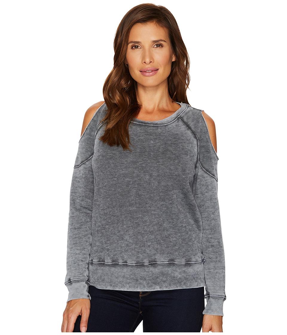 Allen Allen - Cold Shoulder Sweatershirt