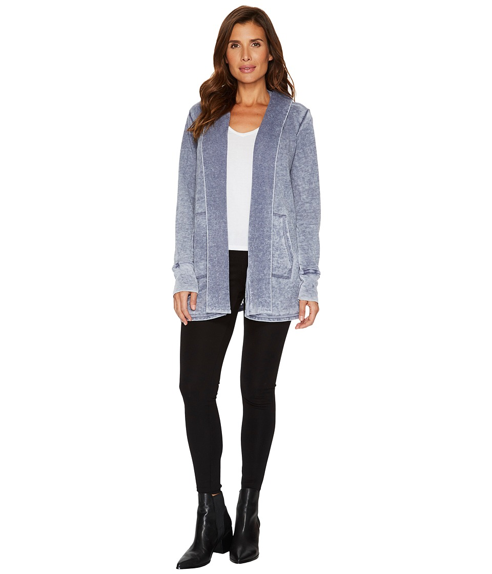 Allen Allen - Long Sleeve Open Cardigan