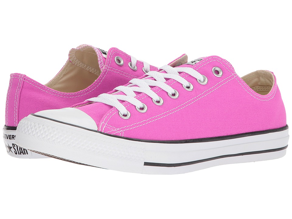 Converse - Chuck Taylor All Star Seasonal Ox (Hyper Magenta) Athletic Shoes