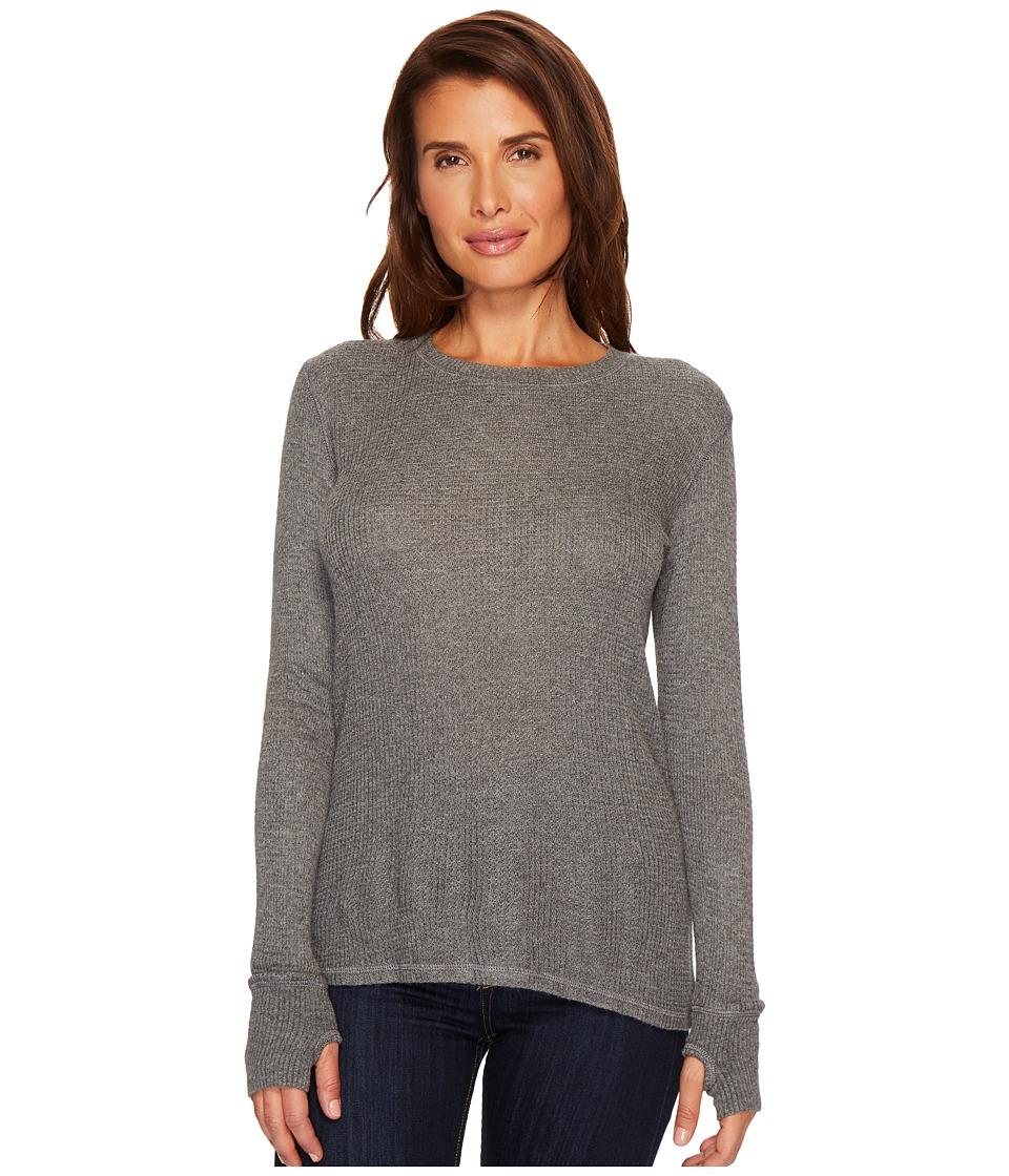 Allen Allen - Thermal Sweater Long Sleeve Thumbhole