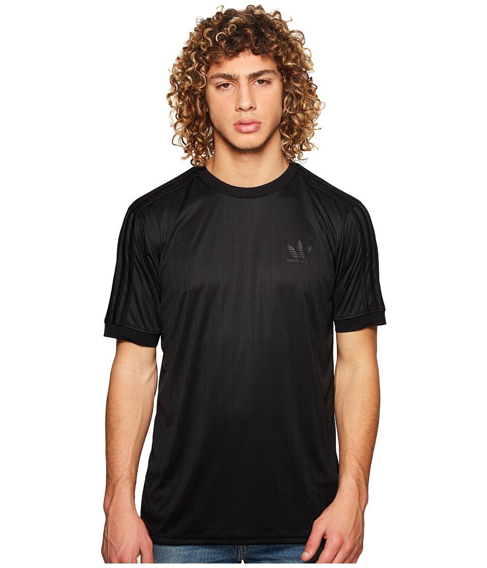 adidas Skateboarding - Clima Club Jersey (Black/Black) Mens T Shirt