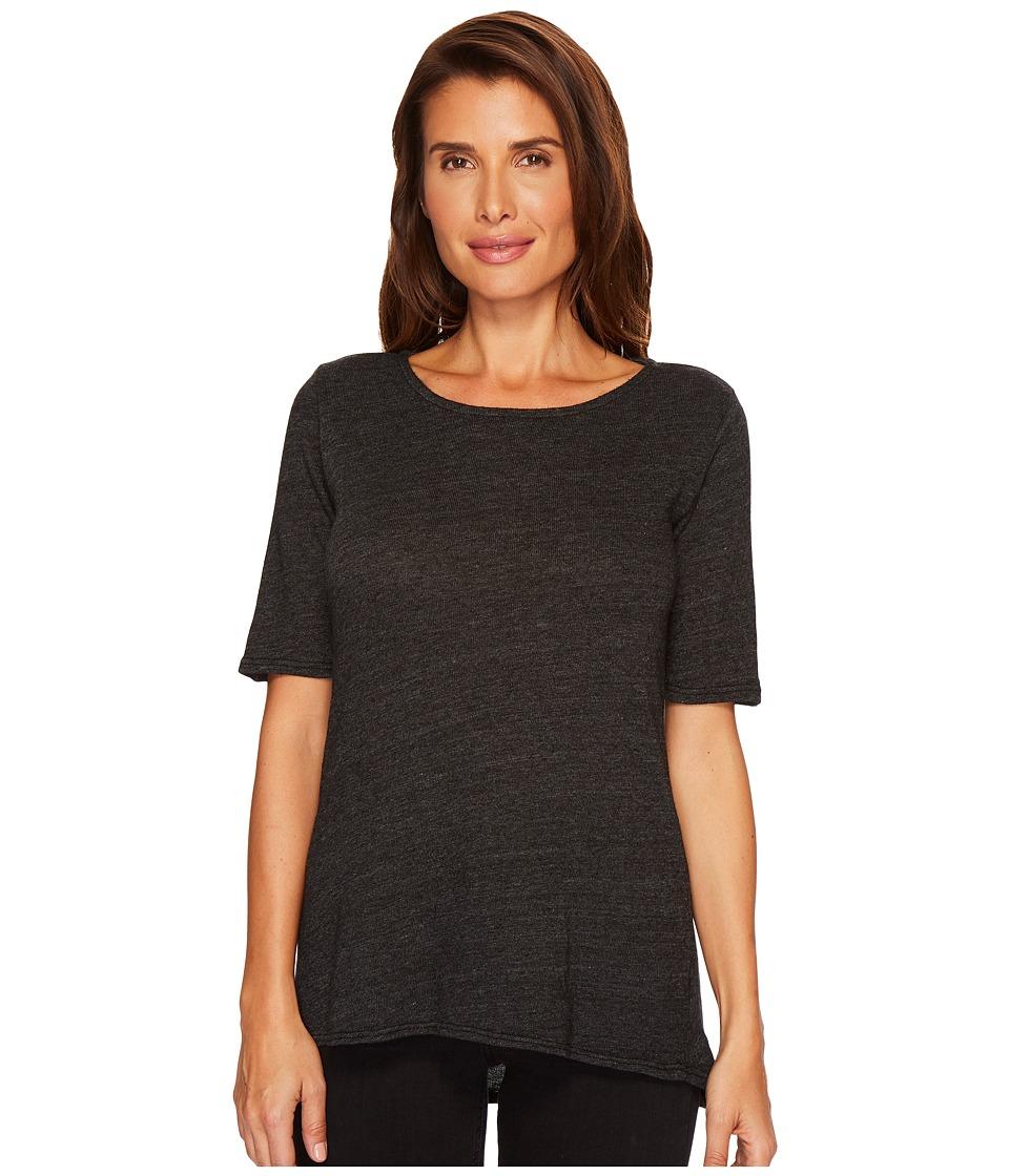 Allen Allen - Sweater 1/2 Sleeve High-Low Tee