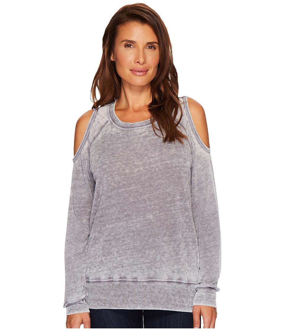 Allen Allen - Sweater Cold Shoulder Top