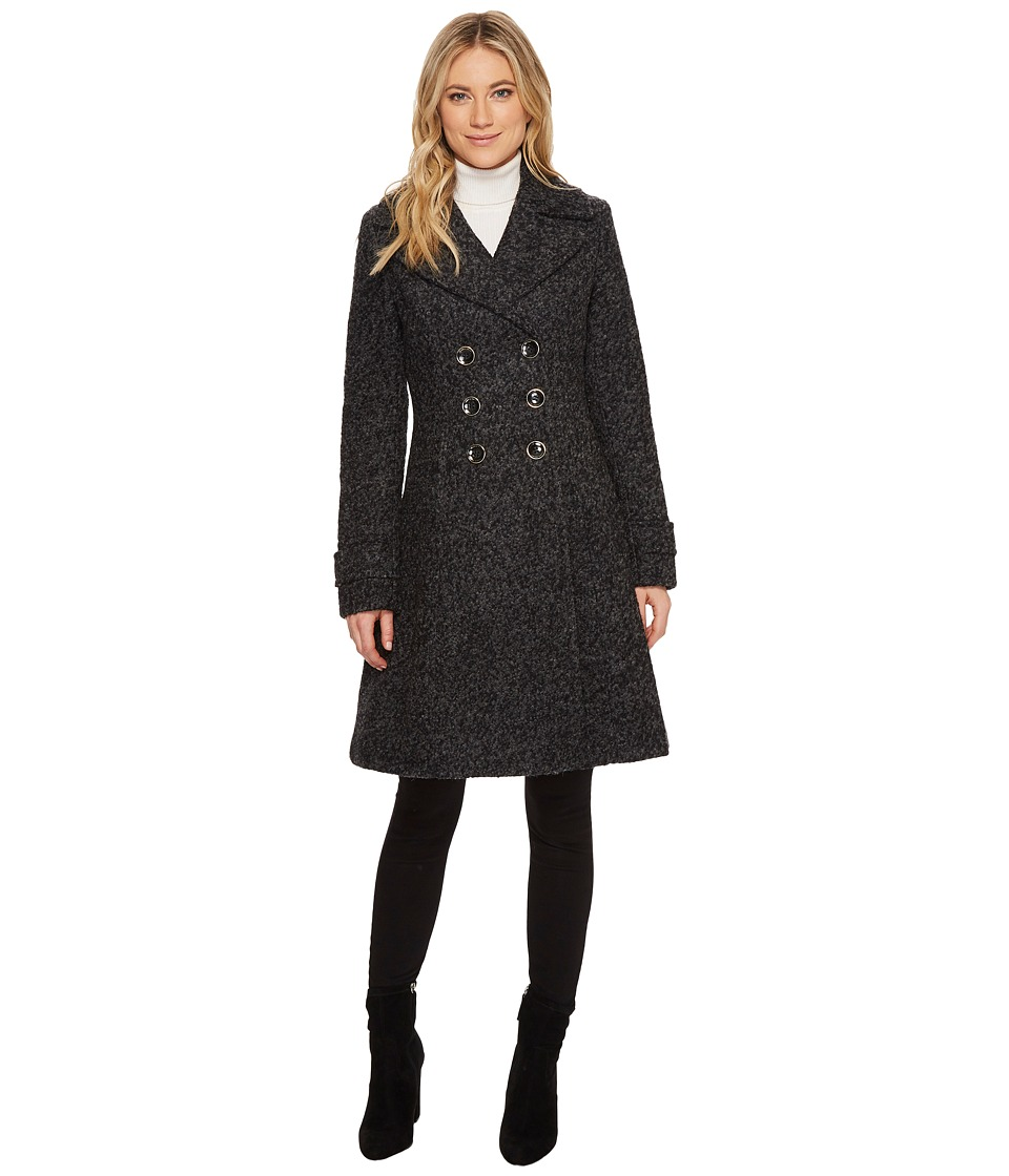 Ivanka Trump - Boucle Double Breasted Fit and Flare Coat
