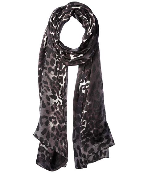 Vince Camuto Leopard Ombre Oblong Scarf - Snow