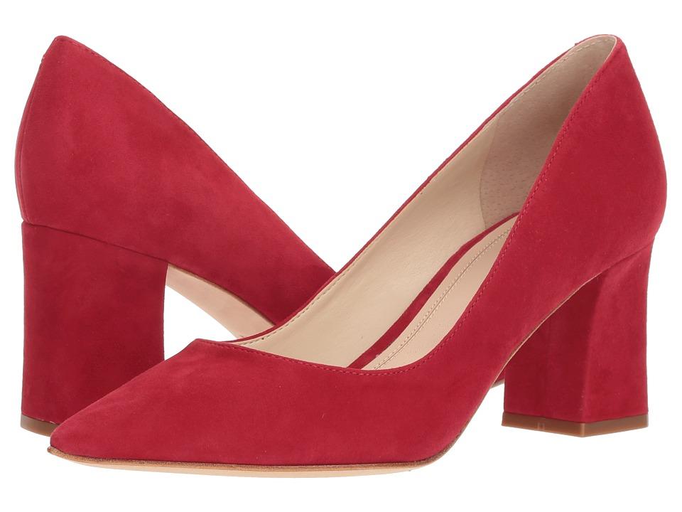 Marc Fisher LTD Zala Pump (Luxe Red Kid Suede) Women's Shoes