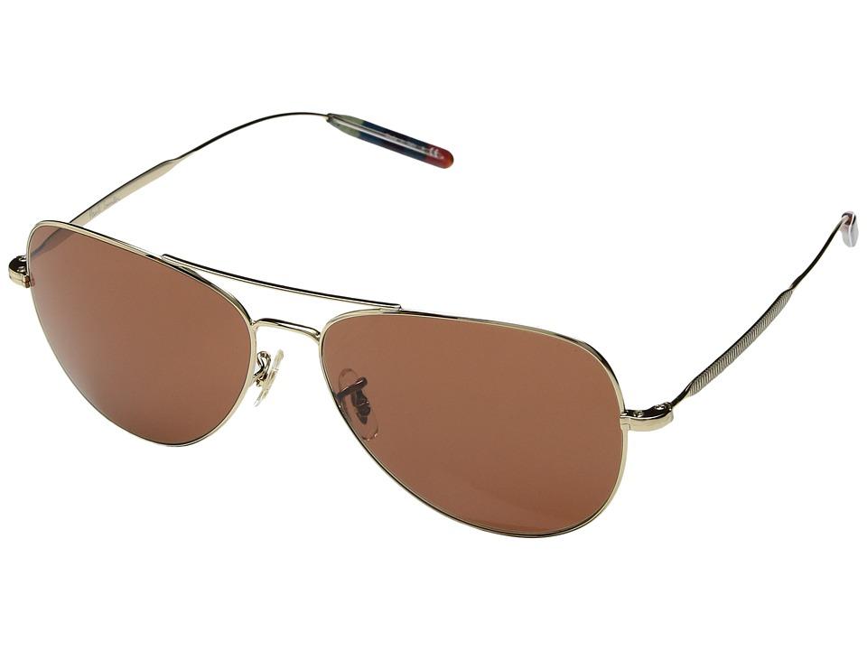 Paul Smith - Davison (Gold/Coral) Fashion Sunglasses