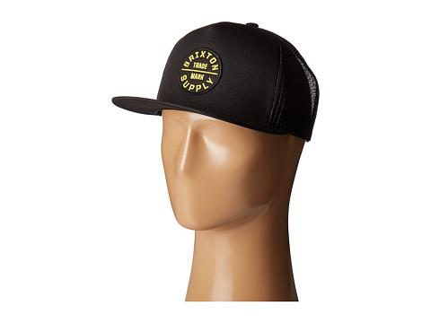Brixton Oath III HP Mesh Cap - Black