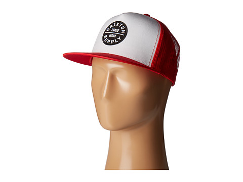 Brixton Oath III HP Mesh Cap - Red/White