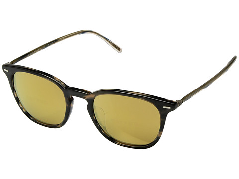 Oliver Peoples Heaton - Blue Cocobolo/Amber Goldtone