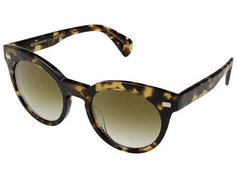 Oliver Peoples Dore - Hickory Tortoise/Bronze Flash Gradient Mirror