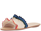 Loeffler Randall Birdie Ruffle Slide Sandal