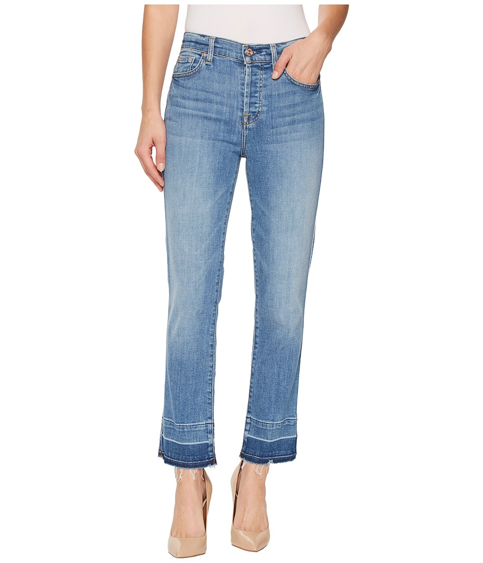7 FOR ALL MANKIND Edie w/ Trousers Released Hem in East V...
