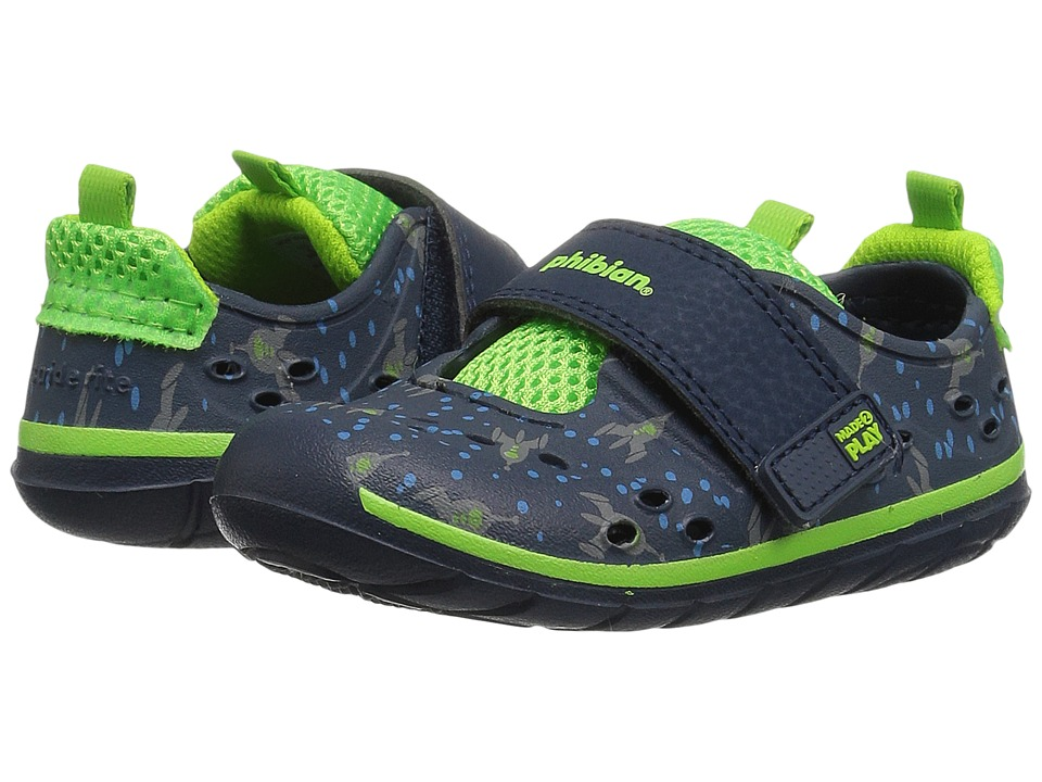 Stride Rite - Made 2 Play Phibian (Infant/Toddler) (Navy Rocketship) Boys Shoes