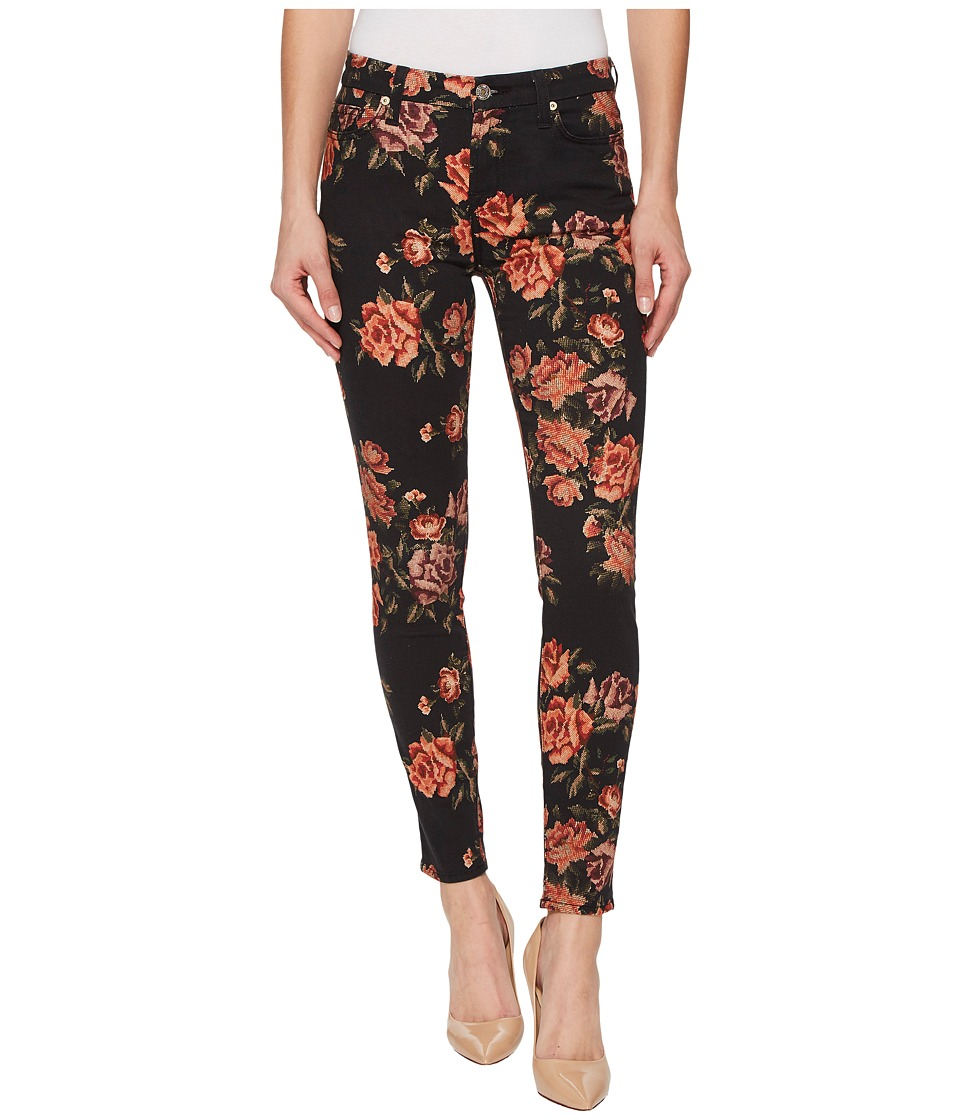 7 For All Mankind - The Ankle Skinny in Needle Point Rose