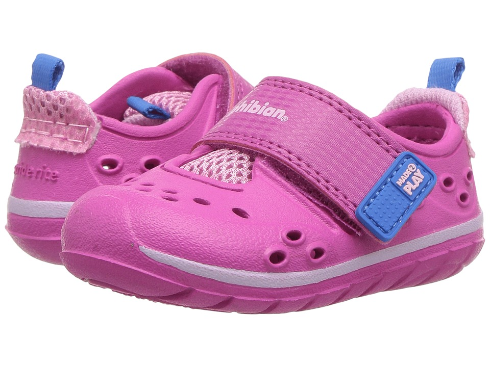 Stride Rite - Made 2 Play Phibian (Infant/Toddler) (Pink) Girls Shoes