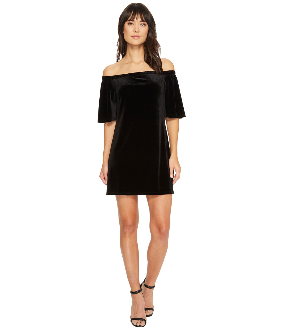 LAmade Sophie Stretch Velvet Dress (Black) Women