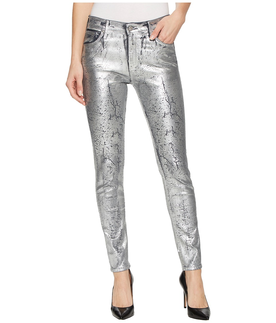 AG Adriano Goldschmied Farrah Skinny Ankle in Iced Silver (Iced Silver) Women