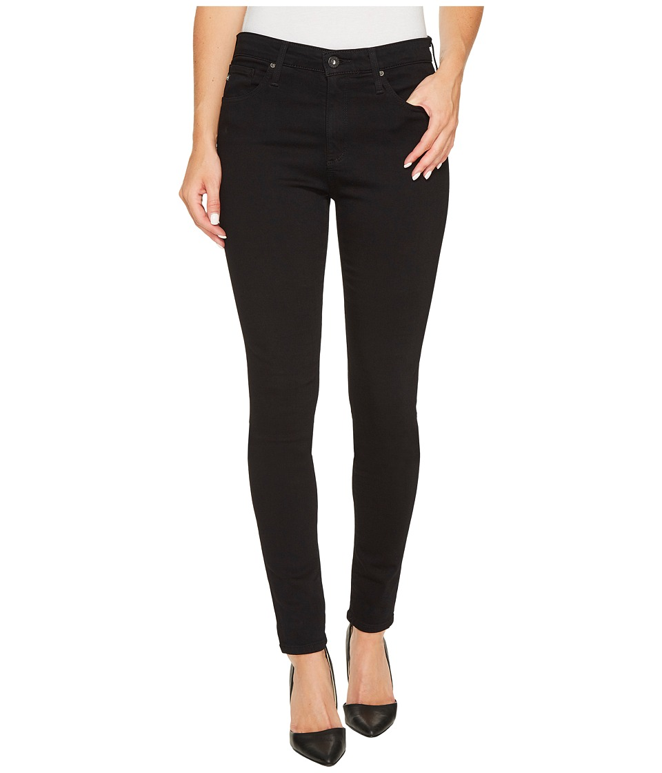 AG Adriano Goldschmied - Farrah Skinny in Super Black (Super Black) Womens Jeans