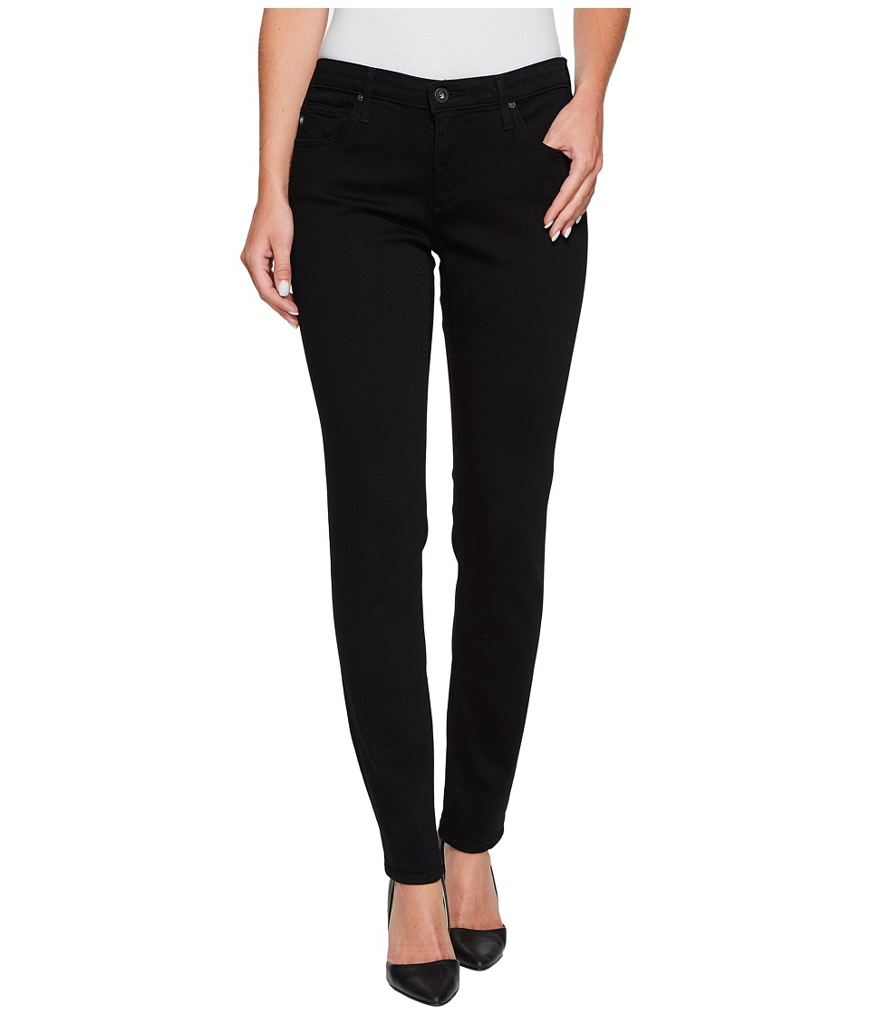 AG Adriano Goldschmied Leggings Ankle in Super Black (Super Black) Women