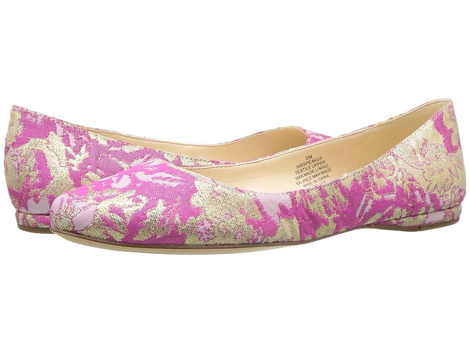 Speakup Floral Flat Shoes