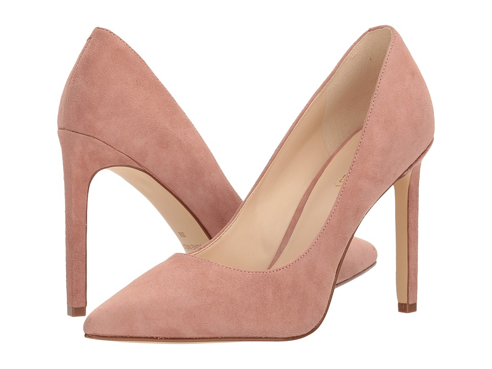 Nine West - Tatiana Pump (Dusty Coral Isa Kid Suede) High Heels