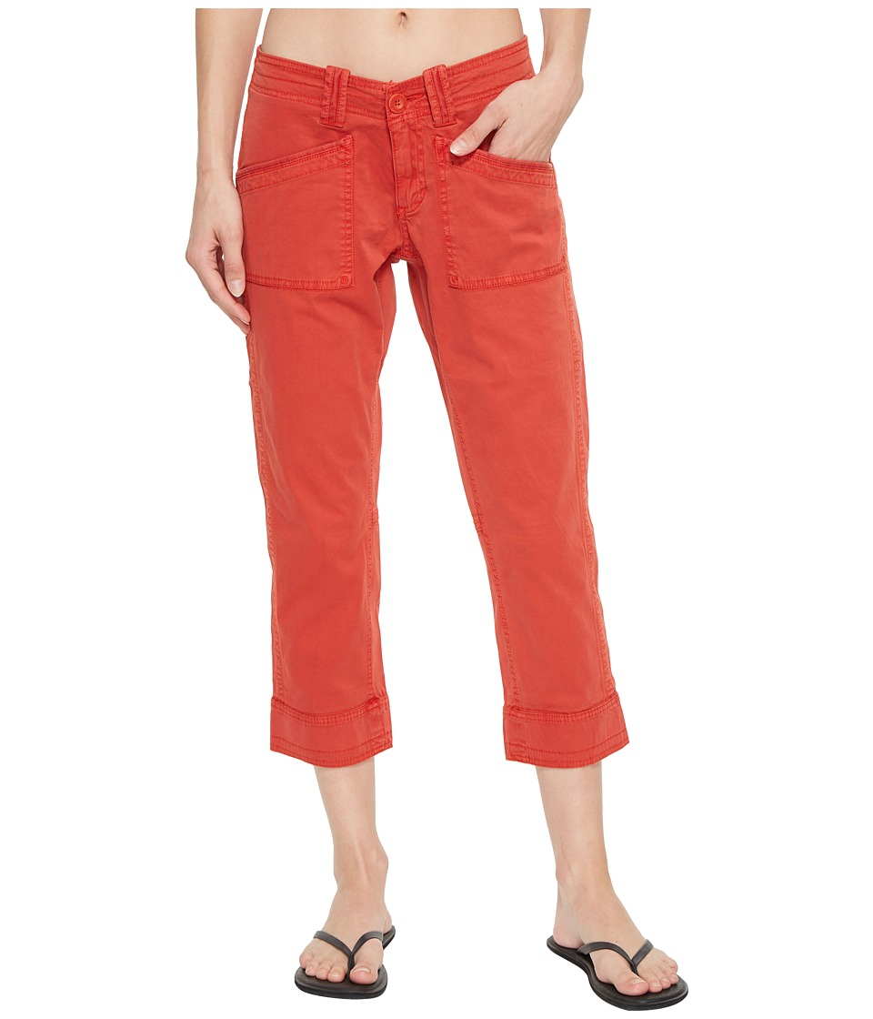 Aventura Clothing Arden V2 Slimmer Pants (Aurora Red) Women's Casual Pants