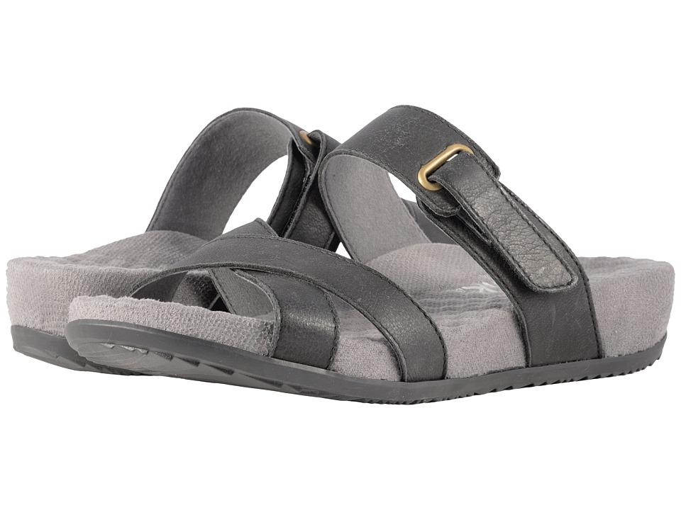 SoftWalk Brimley (Black Sandal Leather) Women