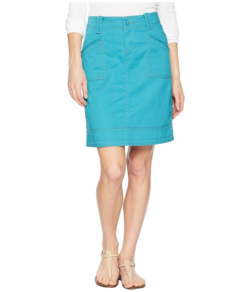 Aventura Clothing - Arden Skirt (Pagoda Blue) Womens Skirt