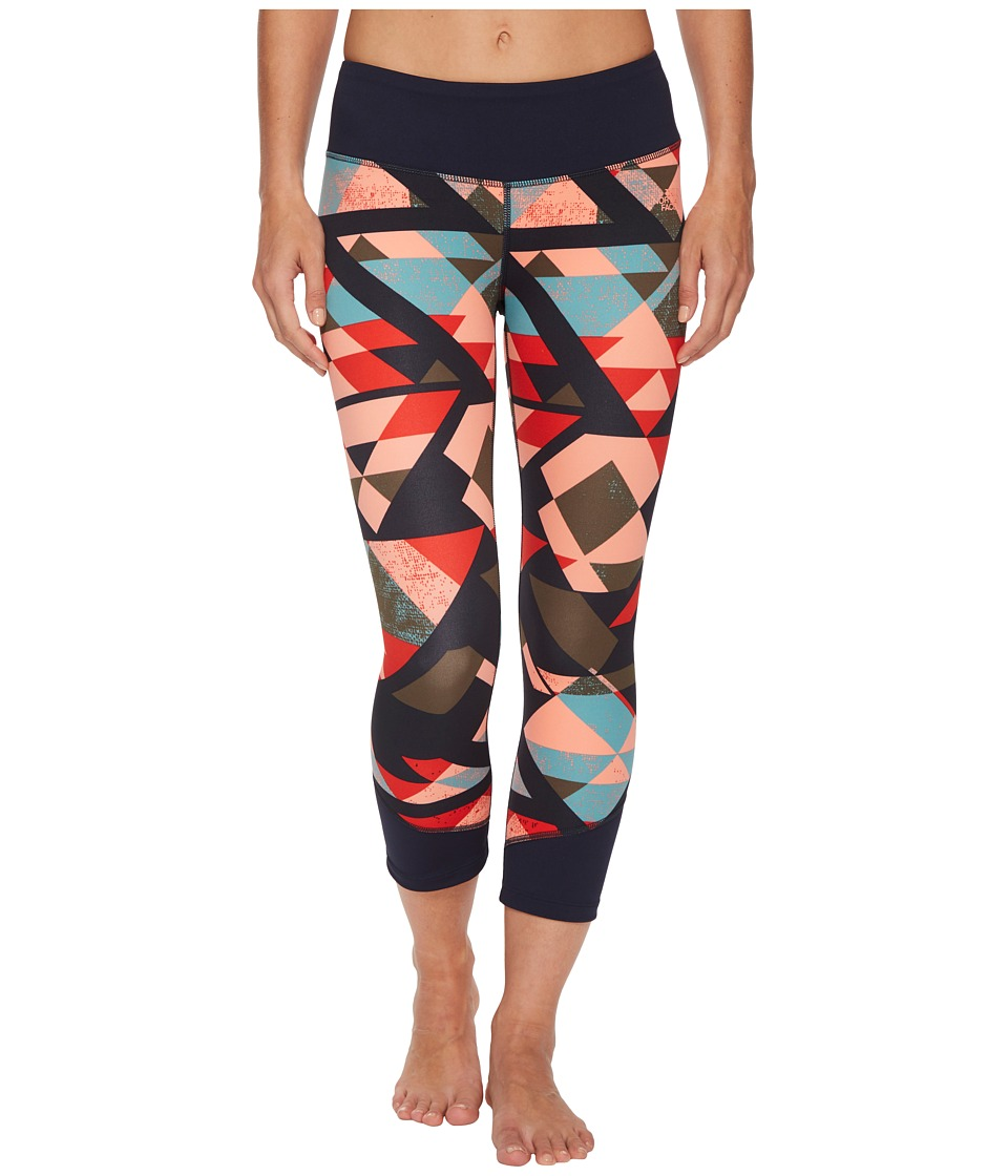 The North Face Pulse Mid-Rise Crop Pants (Urban Navy Tridance Print) Women