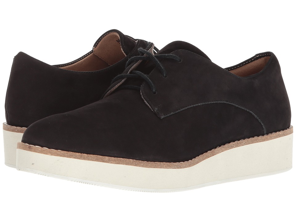 SoftWalk Willis (Black Smooth Nubuck Leather)
