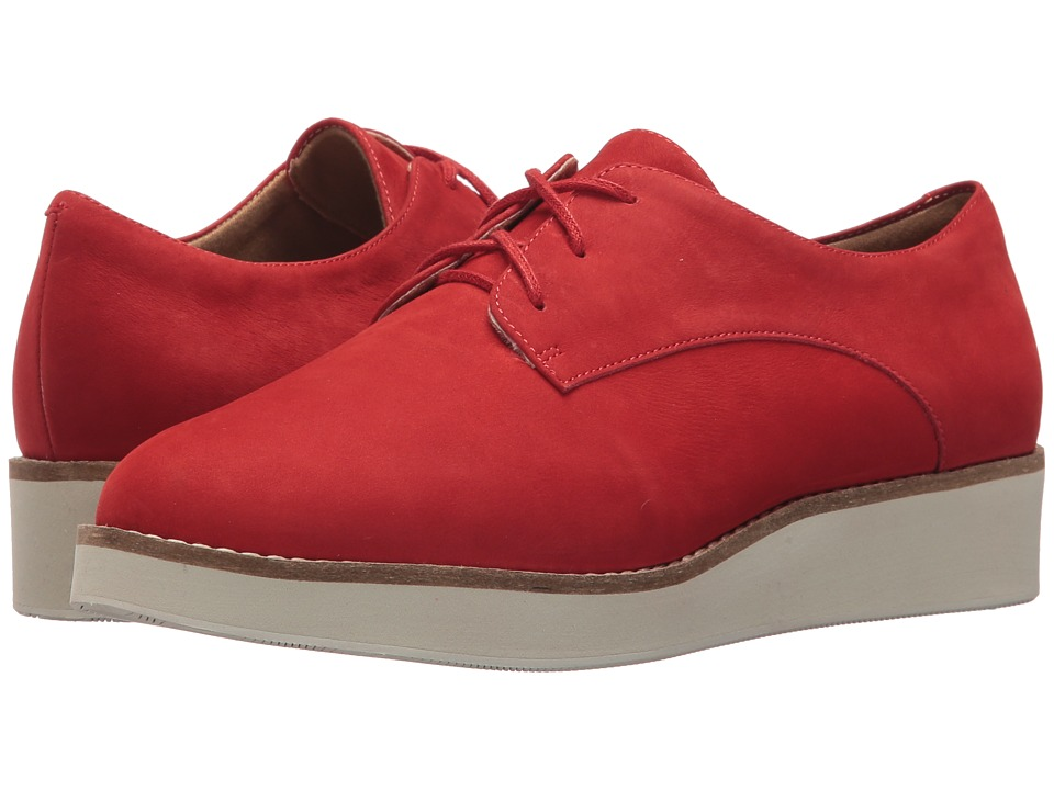 SoftWalk Willis (Red Smooth Nubuck Leather)