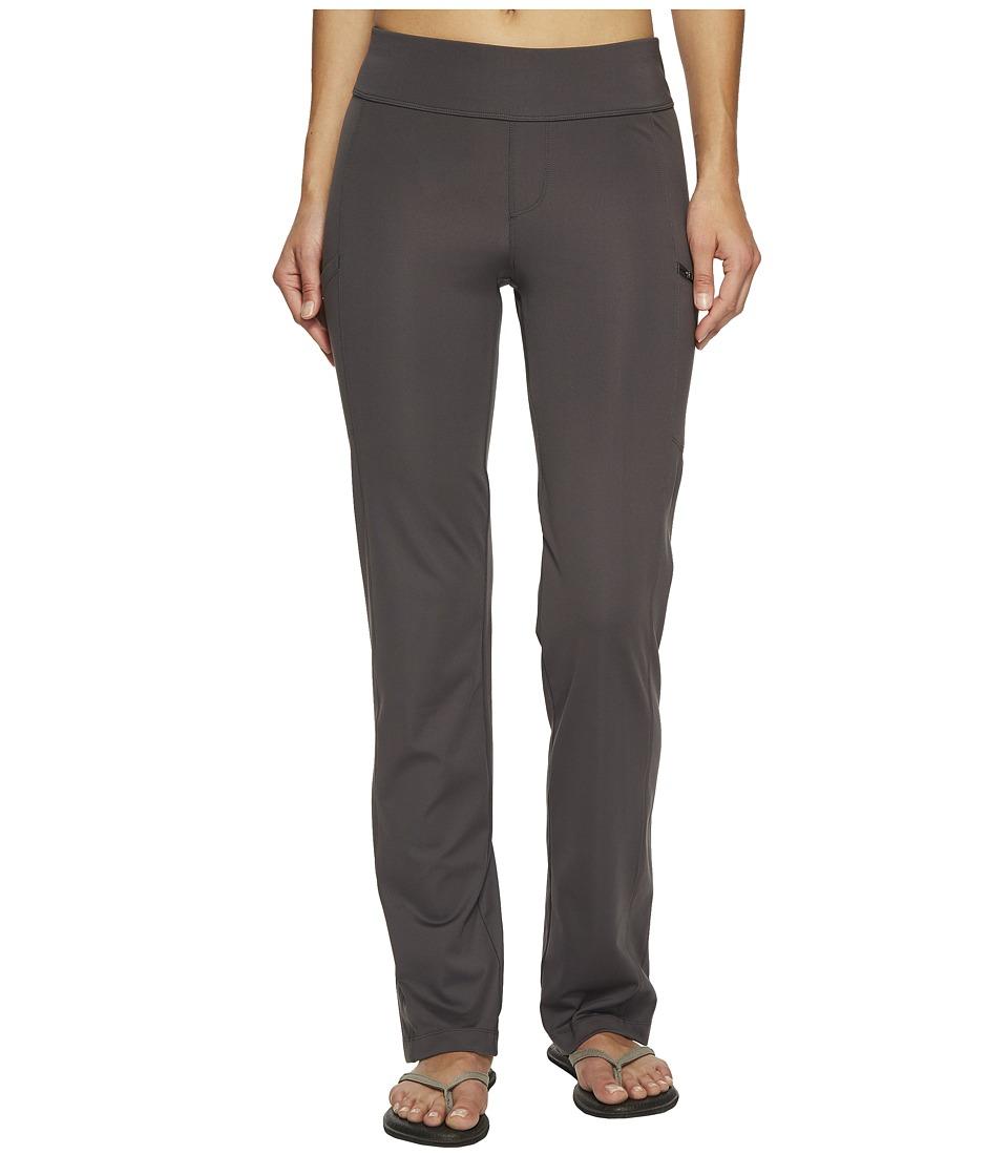 Royal Robbins Jammer Knit Pants (Charcoal Heather) Women