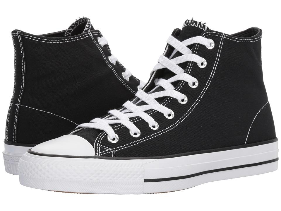 Converse Skate - CTAS Pro Hi Skate (Black/Black/White) Shoes