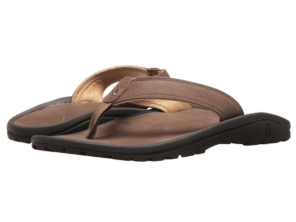 OluKai - 'Ohana 'Ili (Mustang/Mustang) Men's Sandals