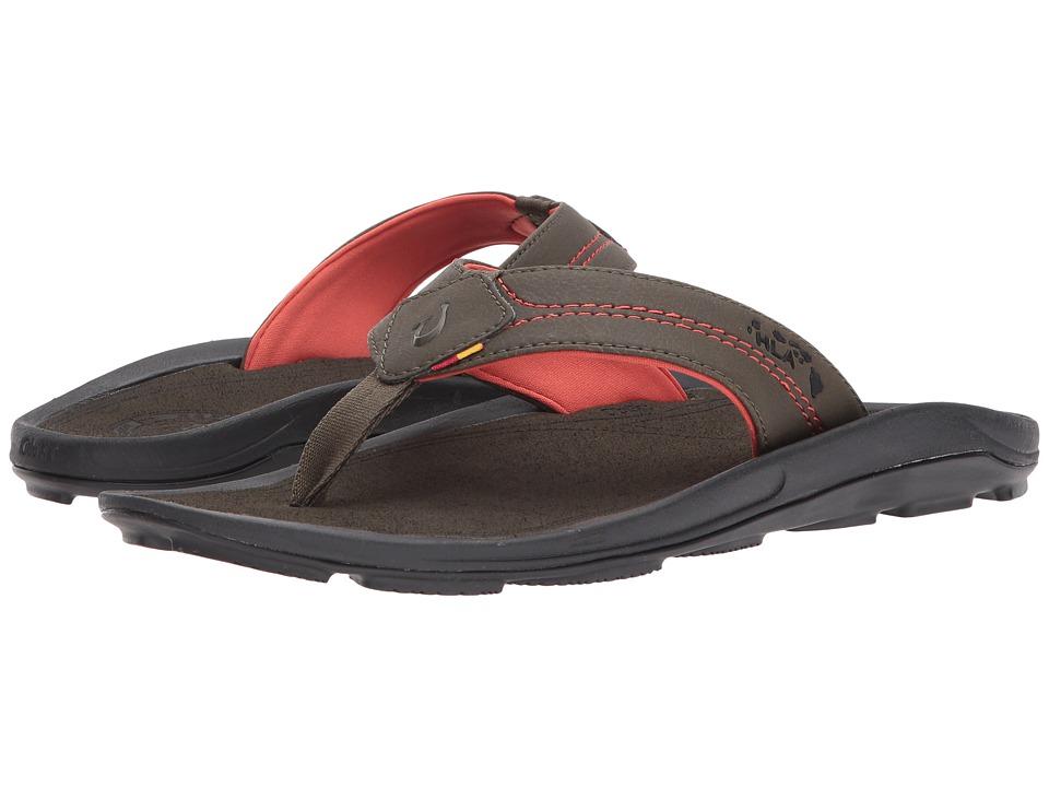 OluKai - Kipi (Kona/Kona) Men's Sandals