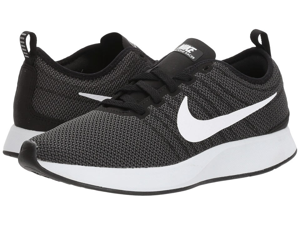 Nike Dualtone Racer (Black/White/Dark Grey) Women's Shoes