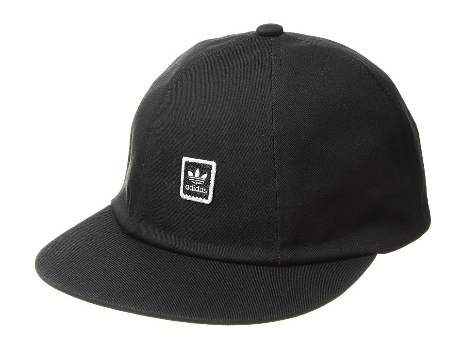 adidas Skateboarding - Mod 6 Panel Hat (Black) Caps