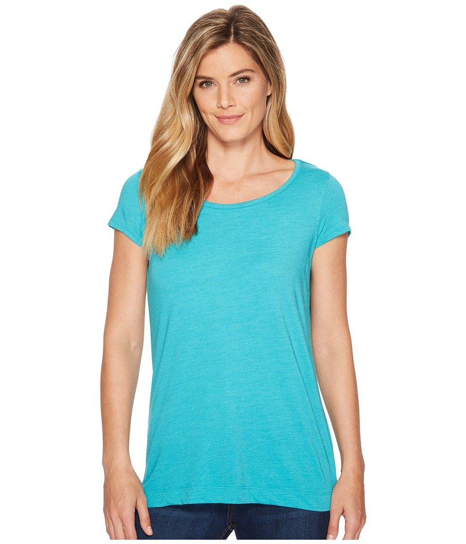 Royal Robbins Merinolux Short Sleeve Shirt (Viridian Green) Women