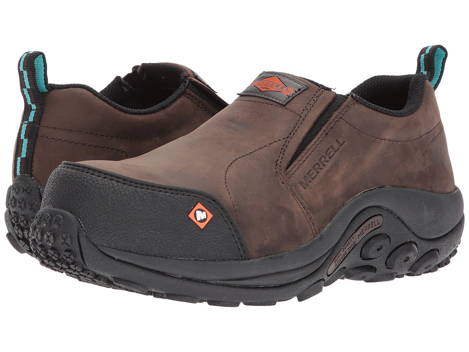 Merrell Work Jungle Moc CT (Espresso) Slip-On Shoes
