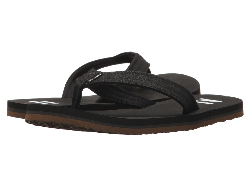 Billabong - Stoked Sandal (Little Kid/Big Kid) (Black) Men's Sandals