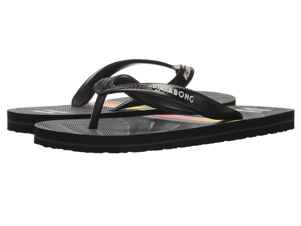 Billabong - Tides (Little Kid/Big Kid) (Black) Men's Sandals